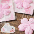 桜のアロマストーンプレゼント