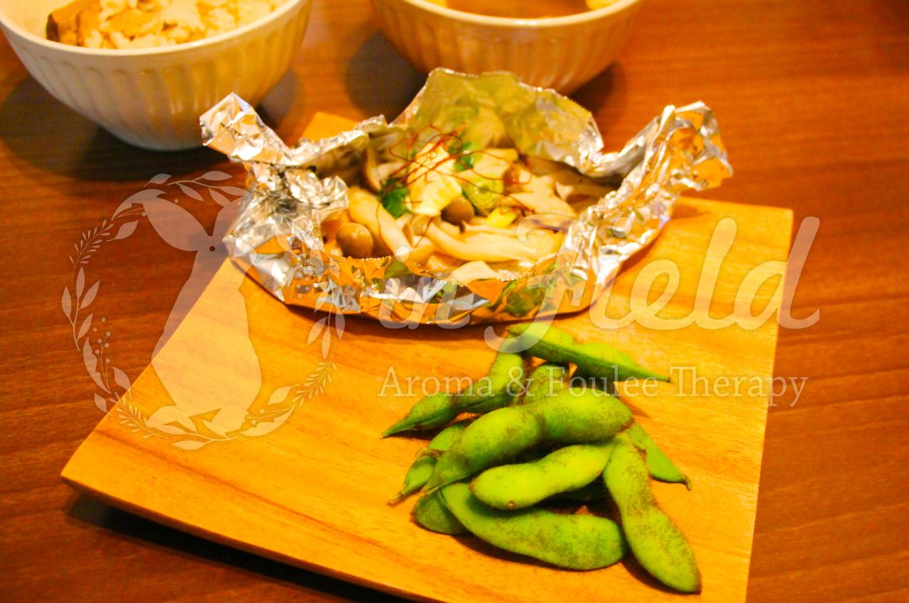 おひさま秘伝枝豆